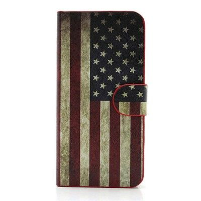 Housse iPhone SE/5/5S Drapeau USA