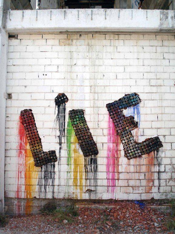 NAR http://www.widewalls.ch/artist/nar/ #graffiti #installation #street #urban #art