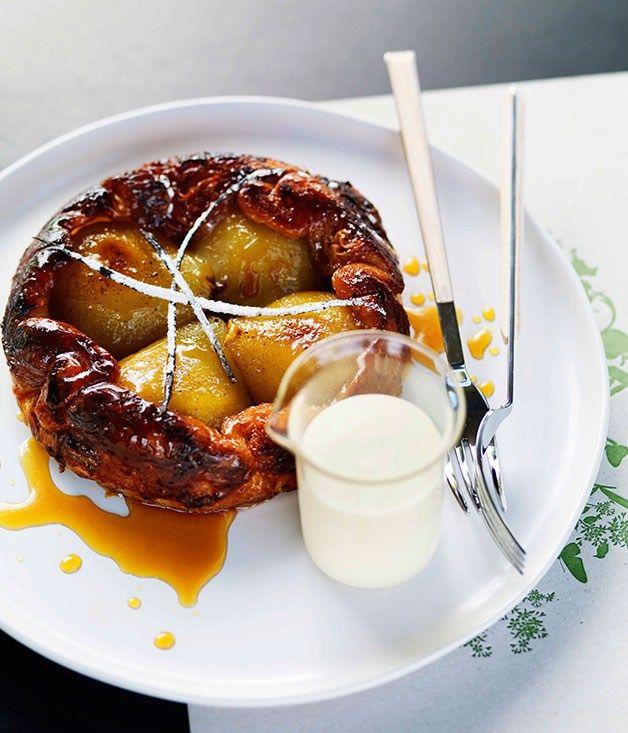 Shannon Bennett: Pear tarte Tatin - Gourmet Traveller