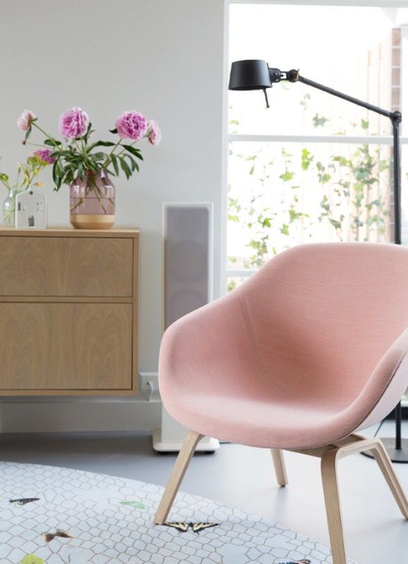 Via Femkeido | HAY About a Lounge Chair | Pink | Nordic