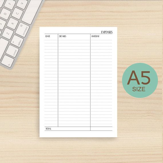 Best 25+ Daily expense tracker ideas on Pinterest Expense - printable expense report template