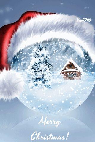Christmas greetings words gif