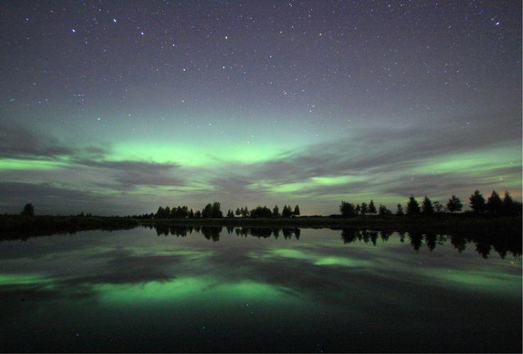 Northern Lights, Muonio, Finnish Lapland