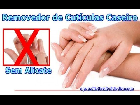 REMOVEDOR DE CUTÍCULAS CASEIRO PODEROSO SEM ALICATE -Por Luciene de Paula https://youtu.be/SiL94hksiAA