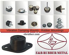 The combination of stable low installation height , high compression strength & low shear stiffness makes the product a versatile high performance antivibration mounting with easy installation and long life. These rubber vibration mounts are designed & constructed for different load capacities with varied diameters & height  to offer flexible installation configuration. www.ebrubber.com