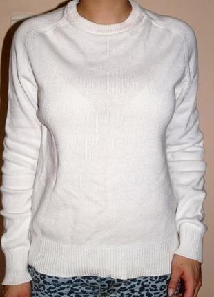 Kup mój przedmiot na #vintedpl http://www.vinted.pl/damska-odziez/swetry-z-dzianiny/11250650-bialy-cieply-wygodny-stylowy-sweter