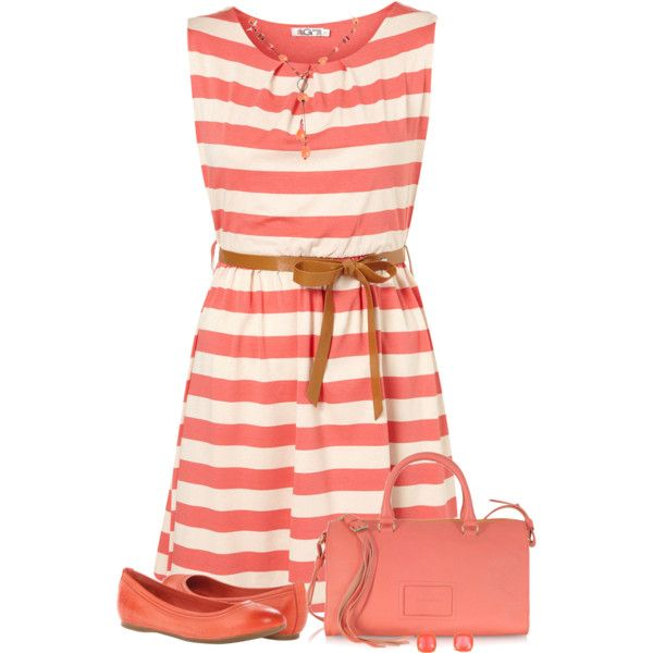 Summer dress and sneakers quayside