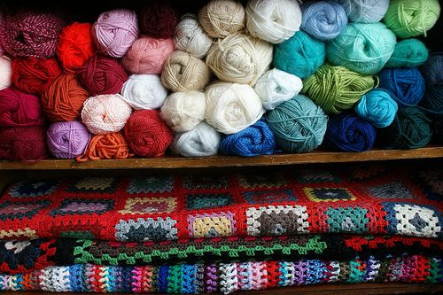 wool in my cabinet | Flickr - Photo Sharing!