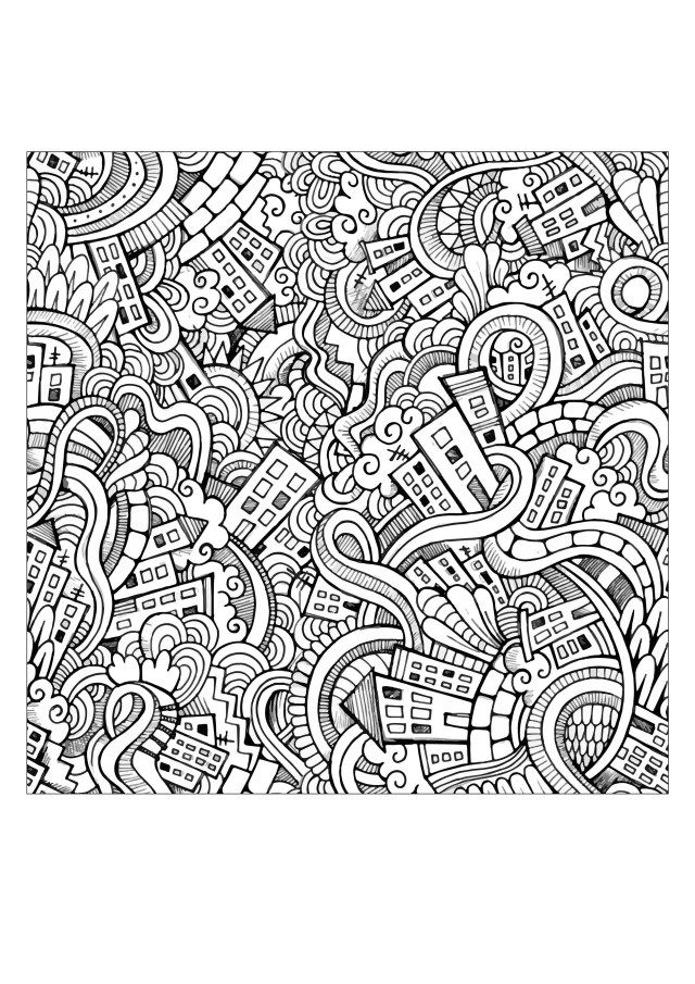 Doodle Art Coloring Pages Free Printable Doodle Art Coloring Pages For Adults Simple Weird Albanysinsanity Com Flag Coloring Pages Christmas Coloring Pages Pokemon Coloring Pages