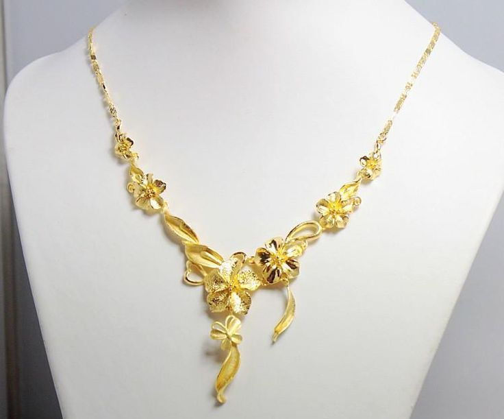 Trendy Gold Bridal Necklace
