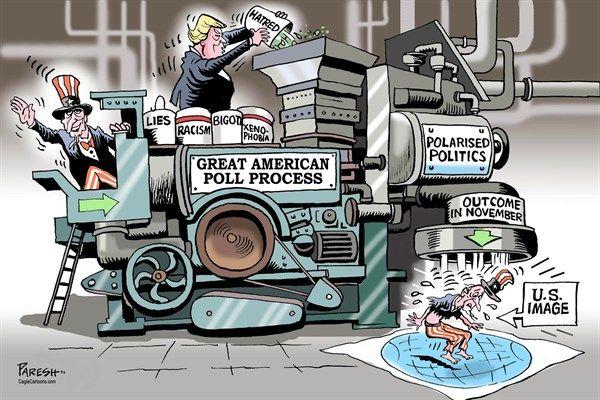 American poll process