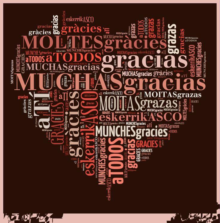 Agradecer en España