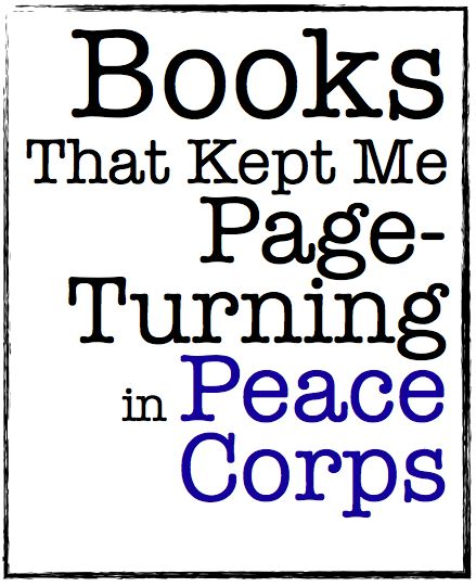 book recommendations from my Peace Corps service