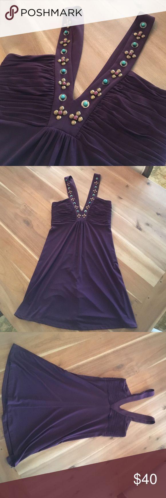 Laundry by Shelli Segal Dress Eggplant Laundry Dress Laundry by Shelli Segal Dresses Mini