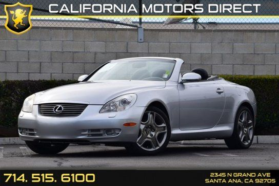 Convertible, 2008 Lexus SC 430 Convertible with 2 Door in Santa Ana, CA (92705)