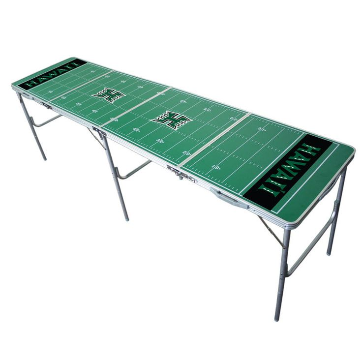 Hawaii Warriors 2'' x 8'' Tailgate Table