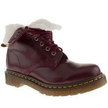 Burgundy Dr Martens boot - <3 them for Autumn