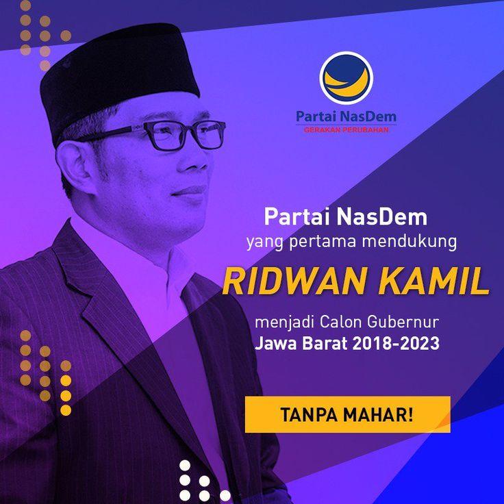 Mengulas berita yang sedang populer maupun yang biasa saja: #RKJabar1 Dukung Ridwan Kamil Cagub Jabar,