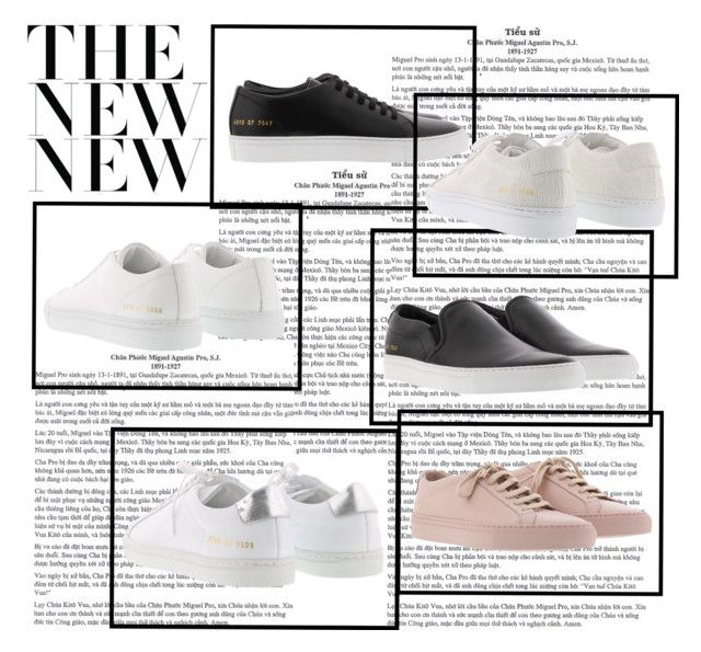 """""""Common Projects - love these sneakers!"""" by brunarosso-eshop on Polyvore featuring moda"""
