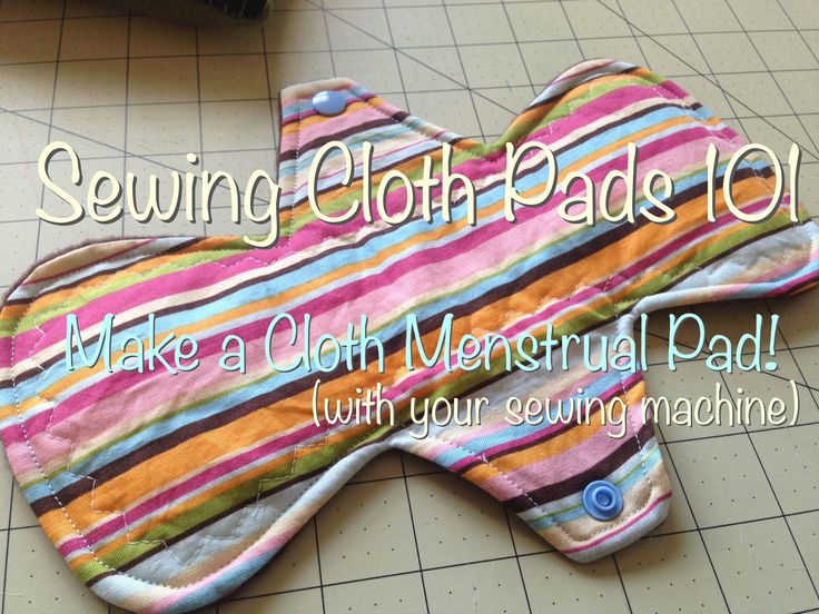 This video is a tutorial for sewing a basic cloth menstrual pad with a sewing machine. I hope you find it helpful. Don't forget to come and check out our Fac...