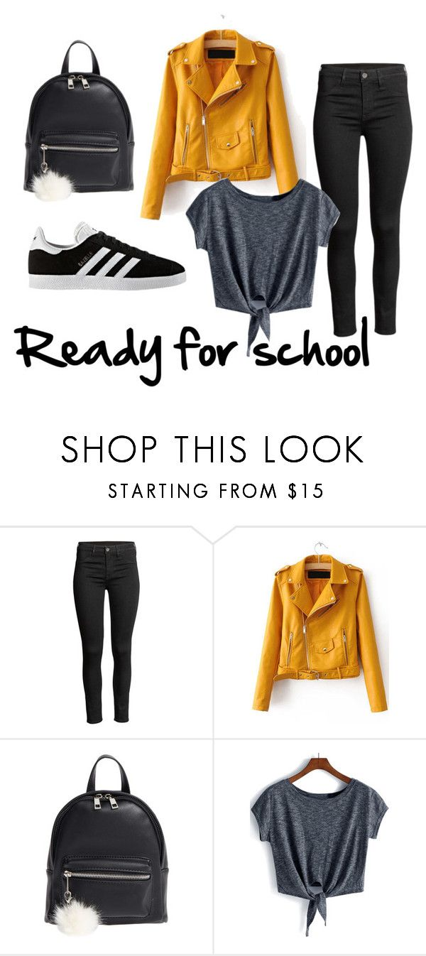 Ready for school by patsilvarte-blog on Polyvore featuring adidas and BP.