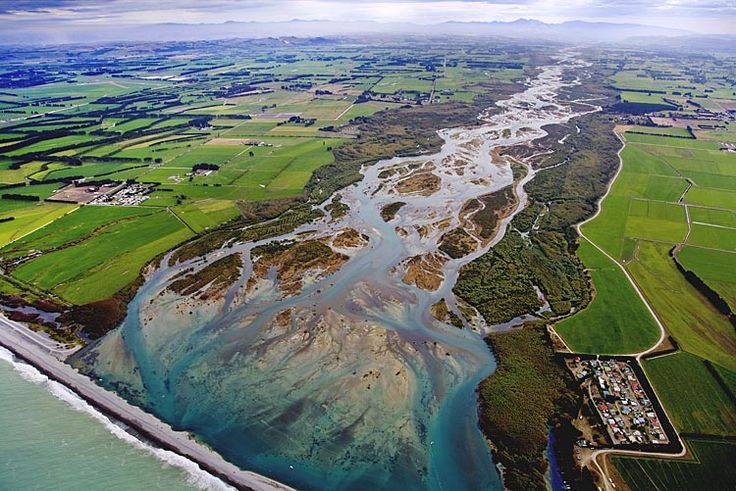 Waitaki River mouth, see more, learn more, at New Zealand Journeys app for iPad www.gopix.co.nz