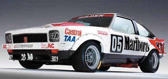 Brocky's legendary 1979 Torana A9X. Bathurst winner by 6 laps, Brock set a new lap record on the last lap