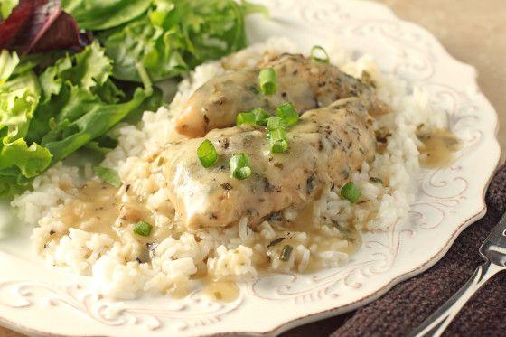 Pammys Crock Pot Chicken Breast And Gravy Recipe - Food.com