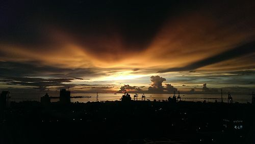 #Sunset at Makassar, Sulawesi - #Indonesia