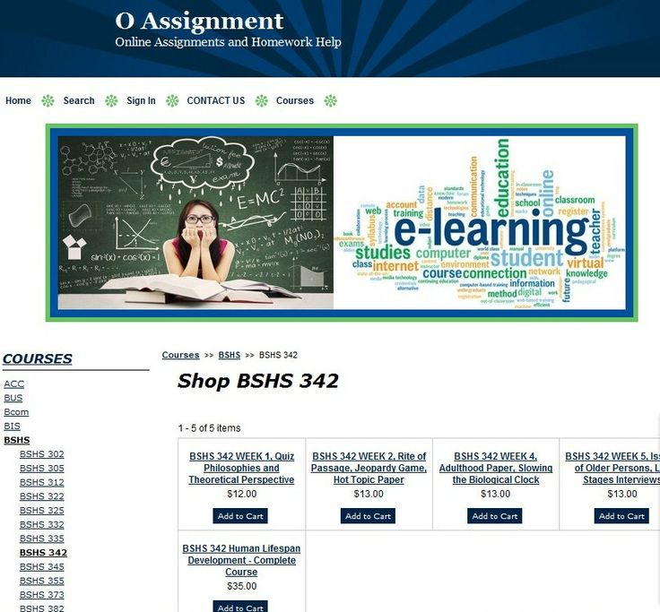 Computer application assignments