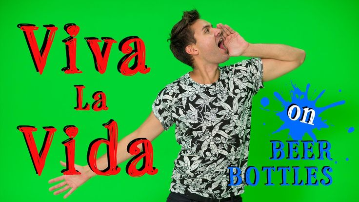 The Bottle Boys Perform a Cover of Coldplay's Song 'Viva la Vida' Using Beer Bottles as Instruments