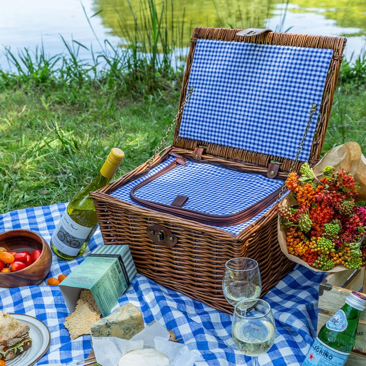 Over & Back, canasta para picnic, 1 pieza. Costco México