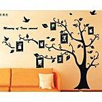 pegatinas de pared de pared Tatuajes, estilo de fotos negro pegatinas de pared de pvc árbol 2016 - €12.49