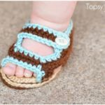 How To Make Crochet Baby Summer Sandals