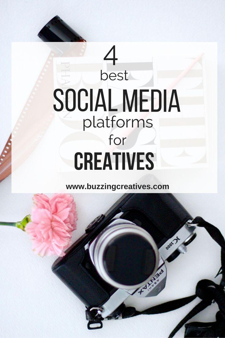 4 Best Social Media platforms for Creatives