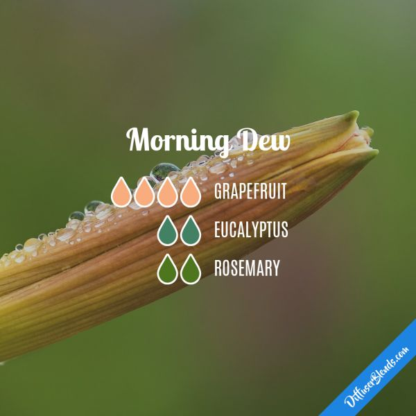 Morning Dew - Essential Oil Diffuser Blend