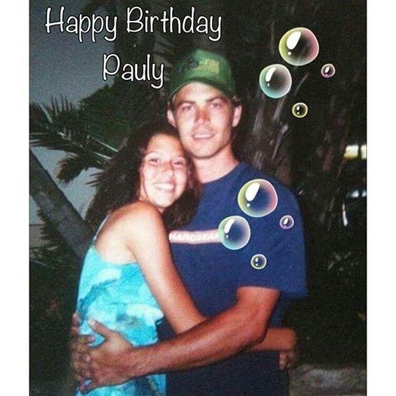@Regrann from @myloverpdubber - Happy birthday in heaven Pauly …