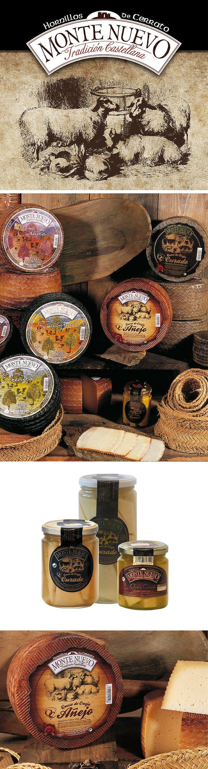 Cheese label design.