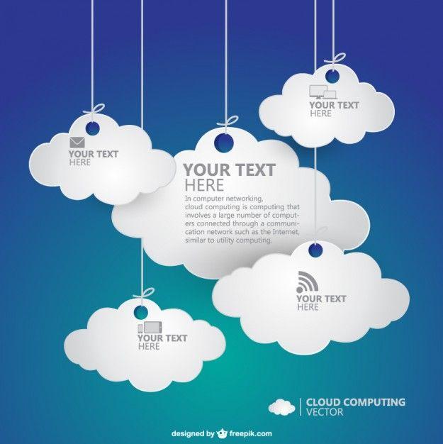 Cloud computing vector | Download free Vector