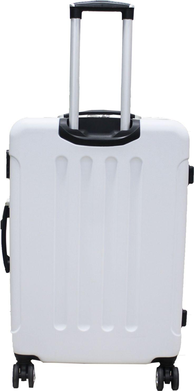 Kit Mala de Viagem com carrinho em alumínio, expansiva, forrada, injetada em material rígido de Poli Carbonato, rodas que giram 360º, duas alças de mão rígidas retráteis, fechadura com segredo, compartimento interno com bolso para roupas usadas, tiras internas para prender roupas. http://hcompras.com/kit-malas-de-viagem-com-carrinho-em-aluminio-e-poli-carbonato/