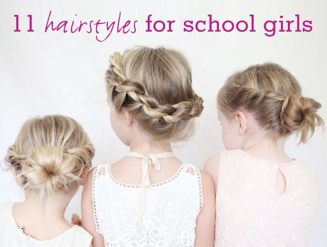 If the thought of starting another school year playing salon stylist has you tied up in knots, we're hair to help! Brush up on these 11 divine dos for your little ladies' locks and win best tressed of the playground.