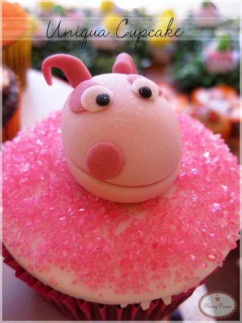 Uniqua Cupcake by Fleury Douce, via Flickr