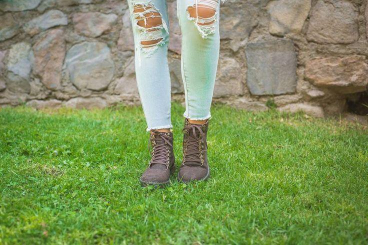 •Botín cuero• #Otoño #Estilo #zapatosnuevos