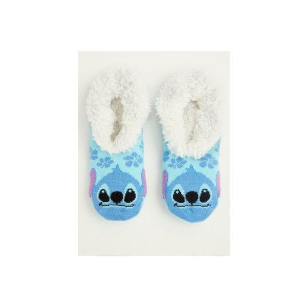 Torrid Disney Stitch Fuzzy Slipper Socks ($17) ❤ liked on Polyvore featuring intimates, hosiery, socks, accessories, hosiery & socks, plus size, purple, purple socks, plus size socks and graphic socks