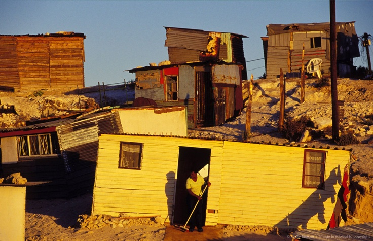 Khayelitsha Township In South Africa.