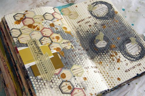 Donna Downey...great journal page'starter' ideas and help for a beginner like me! :-)