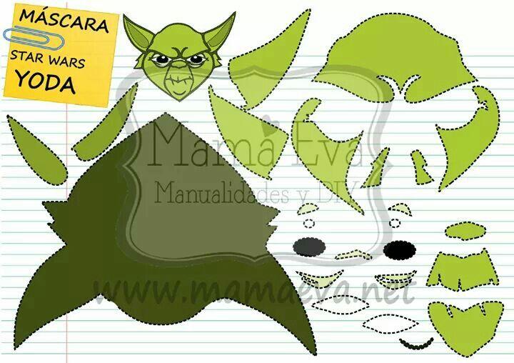 Llega el carnaval!! Star Wars y muchas más máscaras en http://www.mamaeva.net