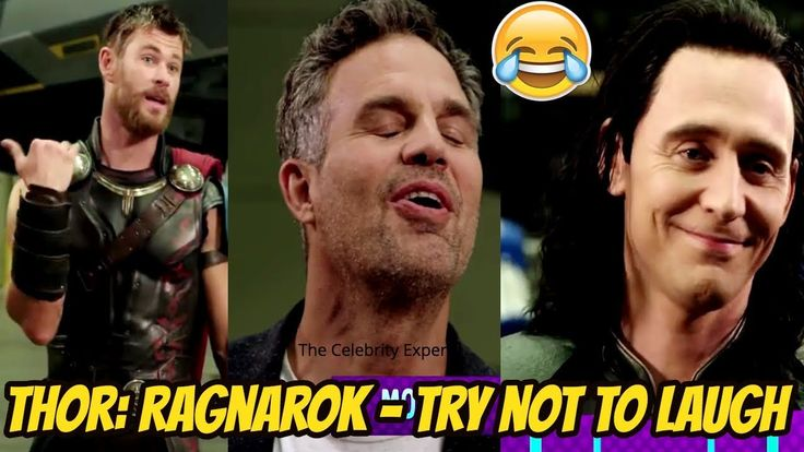 Thor: Ragnarok Cast Funny Moments - Chris Hemsworth, Tom Hiddleston and Mark Ruffalo - 2017 - YouTube