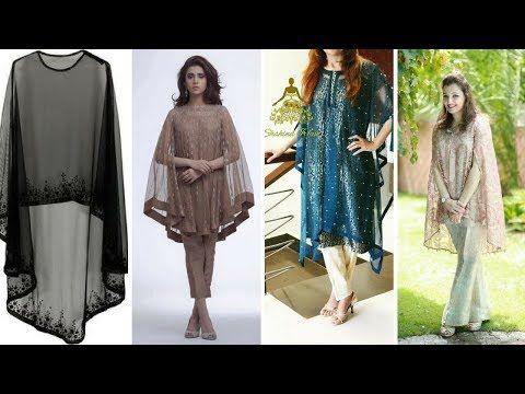 Top Trendy Stylish Cape Kurti || Kurta Designs 2017 - YouTube
