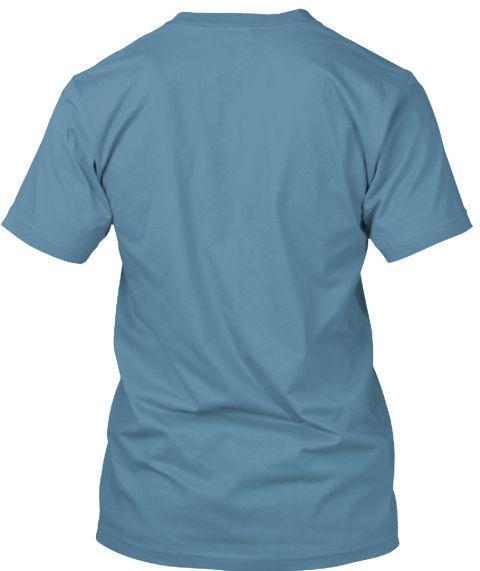 Star Steel Blue T-Shirt Back